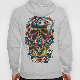 Eagle and eyes Hoody