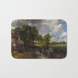 John Constable - The Hay Wain Bath Mat