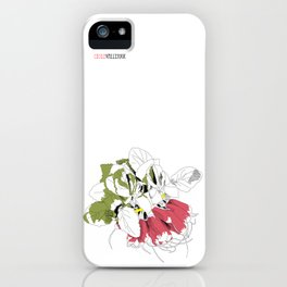 Rad Radish iPhone Case