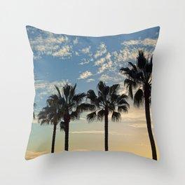 Cali Vice Throw Pillow