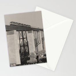 The Old Reliable voyage poster Stationery Cards