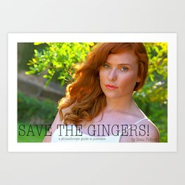 Save the Gingers #3 Art Print