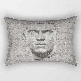 ANCIENT / Head of Caracalla Rectangular Pillow