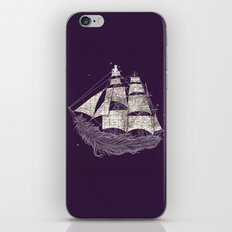 Wherever the wind blows iPhone & iPod Skin