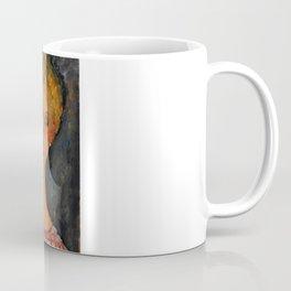 """Amedeo Modigliani """"A Blonde Wearing Earrings"""" Coffee Mug"""