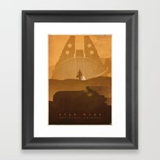 The Scavenger Framed Art Print