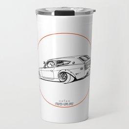 Crazy Car Art 0225 Travel Mug