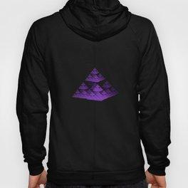 3D Fractal Pyramid Hoody