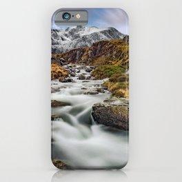 Mountain River Snowdonia iPhone Case