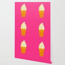 Ice Cream Cone Wallpaper Society6