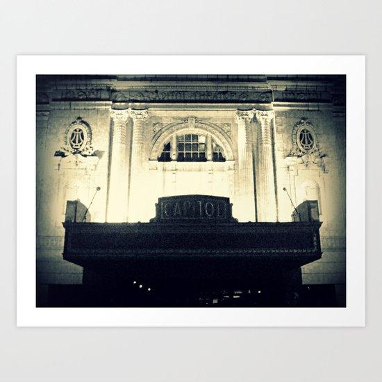 Capitol Music Hall Art Print