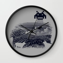 Cownapped Wall Clock