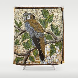 American Kestrel Shower Curtain