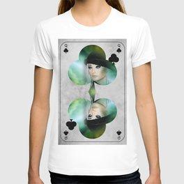 queen of clubs T-shirt
