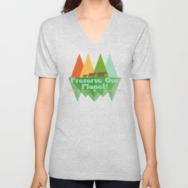 Preserve Our Planet Unisex V-Neck