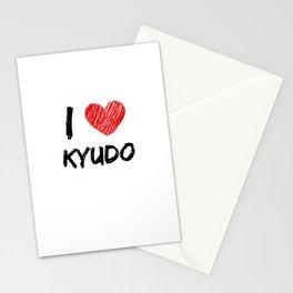 I Love Kyudo Stationery Cards