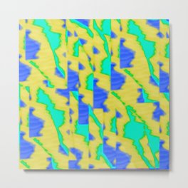 pattern funk colortheme 3 Metal Print