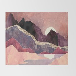 Blush Vista Throw Blanket