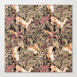 Wild life pattern Canvas Print