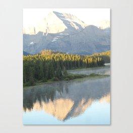 Swiftcurrent Lake, Glacier National Park - Montana Canvas Print