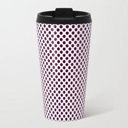 Blackberry Polka Dots Travel Mug
