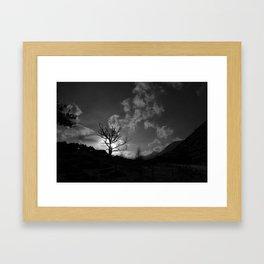 Monochrome Rising.  Framed Art Print