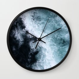 Ocean Wave #1 Wall Clock