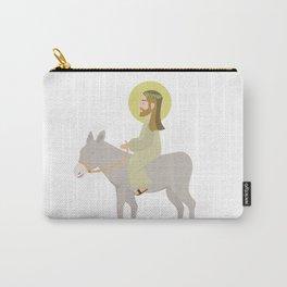 Jesus Riding Donkey Palm Sunday Carry-All Pouch
