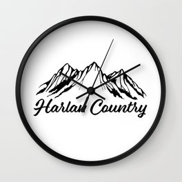 Harlan Country (Dead Hollow) Wall Clock