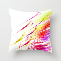 matisse Throw Pillows featuring Matisse by Brian Raggatt