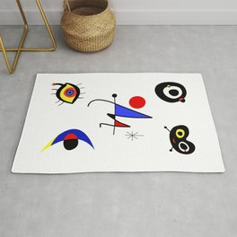 United Joan Miro  Rug