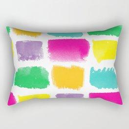 (Brush)Stroke of Genius Rectangular Pillow
