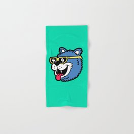 Cool Bear (portrait) Hand & Bath Towel