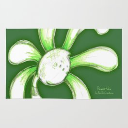 """""""Jailbird"""" Flowerkid Rug"""