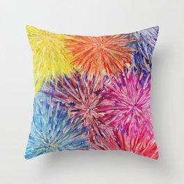 FIREWORK - D4 Throw Pillow
