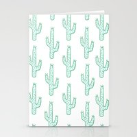 cactus Stationery Cards featuring Cactus by Emma Winton
