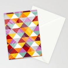 Triagles warm Stationery Cards