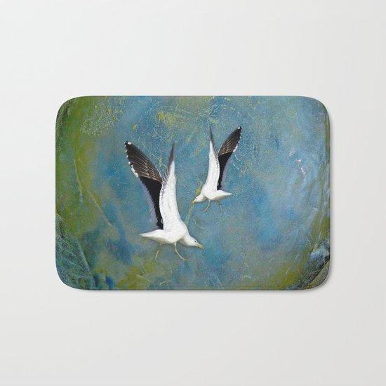 Jeffy Seagull Bath Mat