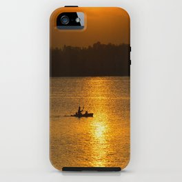 Sunset trip iPhone Case