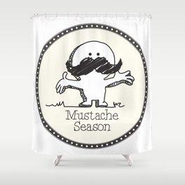 Mustache Season Shower Curtain