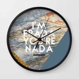 IM PRADO Wall Clock
