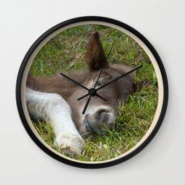 Sleep well Wall Clock