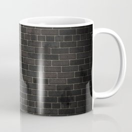 black wall Coffee Mug
