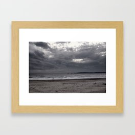 The Lonely Stranger Framed Art Print