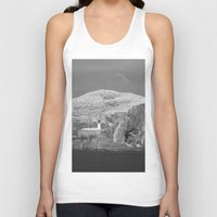 scotland Tank Tops featuring Bass Rock, Scotland by Phil Smyth