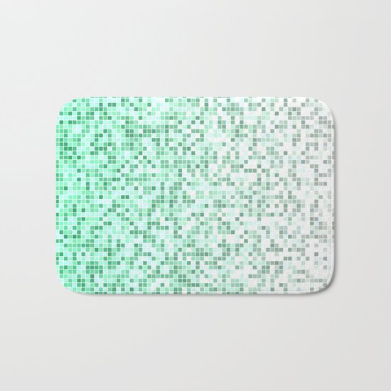 Bathroom pixels Bath Mat