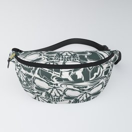 Pirate - White - Pirate Fanny Pack