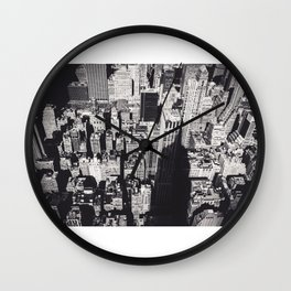 Empire's Shadow Wall Clock