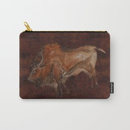 Paleolithic Bison Cave Painting Carry-All Pouch