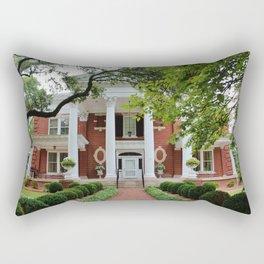 Kenan House Front View Rectangular Pillow